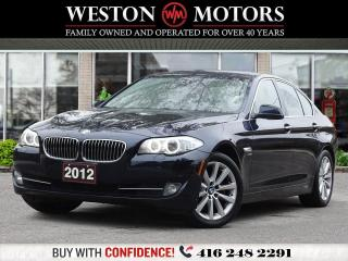 Used 2012 BMW 5 Series XDRIVE*NAVI*BTOOTH*REV CAM*SUNROOF*LEATHER!!* for sale in Toronto, ON
