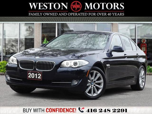 2012 BMW 5 Series XDRIVE*NAVI*BTOOTH*REV CAM*SUNROOF*LEATHER!!*