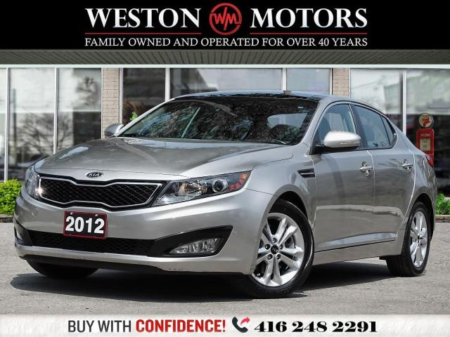 2012 Kia Optima EX*LUXURY*REV CAM*BTOOTH*LEATHER*PAN SUNROOF!!*