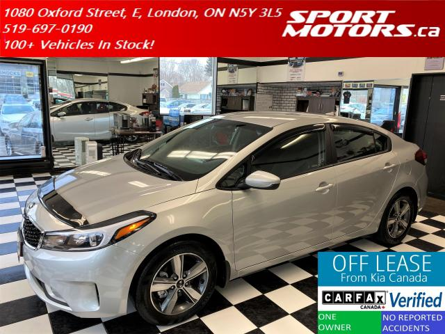 2018 Kia Forte LX+Apple Play+Camera+Heated Seats+AC+Accident Free