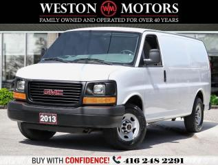 Used 2013 GMC Savana 2500 4.8L*A/C*HIGH FLOOR*READY FOR WORK!!* for sale in Toronto, ON