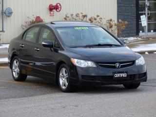 Used 2008 Acura CSX PREMIUM,LEATHER-HEATED,SUNROOF,ALLOYS,NO-ACCIDENTS for sale in Mississauga, ON