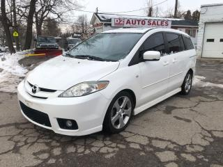 Used 2007 Mazda MAZDA5 Automatic/4 Cylinder/6 Passenger/AS IS Special for sale in Scarborough, ON