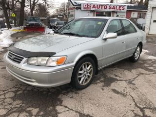 Used 2001 Toyota Camry XLE/Automatic/Leather/Roof/Heated Seats/AS IS for sale in Scarborough, ON