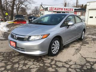 Used 2012 Honda Civic LX/Automtaic/Comes Certified/Bluetooth for sale in Scarborough, ON