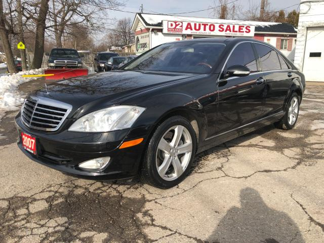 2007 Mercedes-Benz S-Class S550 4Matic/Black on Black/Amazing Condition