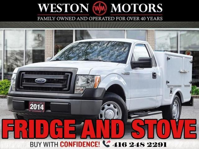 2014 Ford F-150 WOW FRIDGE & STOVE!!*3.7L*GREAT FOR CATERING!*