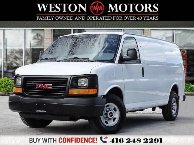 2014 GMC Savana 2500 4.8L*RWD*POWER LOCKS & WINDOWS*