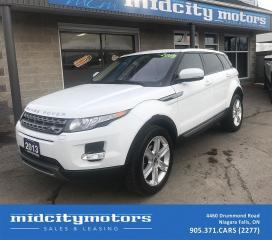 Used 2013 Land Rover Range Rover Evoque Pure Premium AWD/ Sunroof/ NAV/ Bluetooth/ CAM for sale in Niagara Falls, ON
