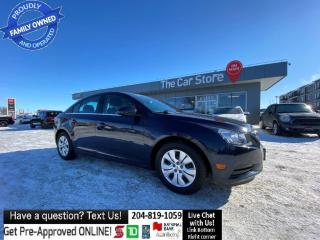 Used 2014 Chevrolet Cruze 1LT REMOTE Start backcam BLUETOOTH No ACCIDENTS! for sale in Winnipeg, MB
