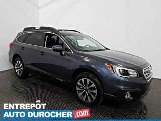 Used 2017 Subaru Outback AWD NAVIGATION - Toit Ouvrant - Sièges Chauffants for sale in Laval, QC