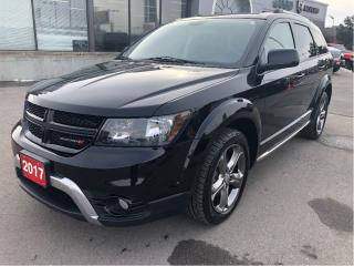 Used 2017 Dodge Journey Crossroads w/Leather, Sunroof, Navi, Backup Cam for sale in Hamilton, ON