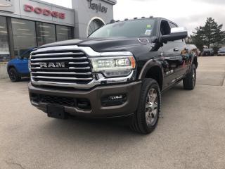 New 2020 RAM 2500 Longhorn Crew 4x4 Cummins Diesel for sale in Hamilton, ON