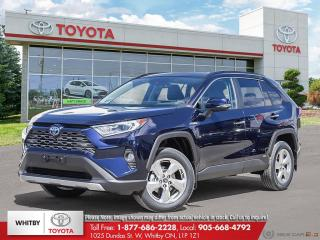 New 2020 Toyota RAV4 HYBRID LIMITED AWD Hybrid Limited for sale in Whitby, ON