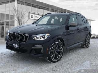 Used 2018 BMW X3 M40i -- AWD LED NAV Apple Carplay for sale in Winnipeg, MB
