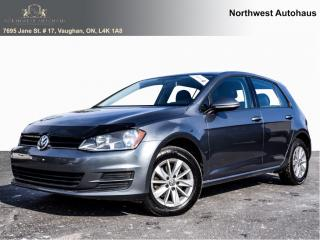 Used 2016 Volkswagen Golf TRENDLINE WIITH APPLE PLAY  5 speed manual for sale in Concord, ON