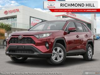 New 2020 Toyota RAV4 XLE AWD  - Sunroof - $116.93 /Wk for sale in Richmond Hill, ON