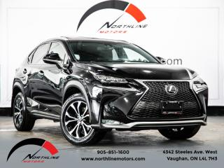 Used 2017 Lexus NX 200t F-Sport Series 3|Navigation|Heads Up Disp|BSM|LDW|Cruise for sale in Vaughan, ON