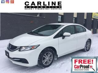 Used 2014 Honda Civic Sedan 4dr Auto LX for sale in Nobleton, ON