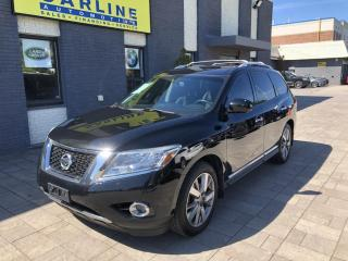 Used 2014 Nissan Pathfinder Platinum Edition 7 Seater for sale in Nobleton, ON