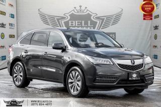 Used 2016 Acura MDX Nav Pkg, AWD, NO ACCIDENT, NAVI, REAR CAM, B.SPOT, LANE DEP for sale in Toronto, ON