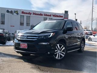 Used 2017 Honda Pilot Touring - Navigation - Panoramic Roof - DVD for sale in Mississauga, ON