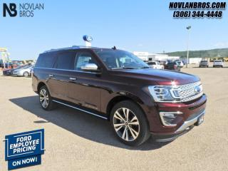 New 2020 Ford Expedition Max Platinum  - Navigation for sale in Paradise Hill, SK
