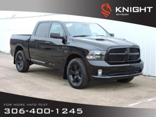 New 2020 RAM 1500 Classic ST Crew Cab 4x4 HEMI | Night Edition | Heated Seats & Steering Wheel | Back-up Camera | Bluetooth for sale in Weyburn, SK