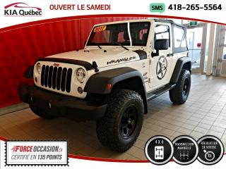Used 2017 Jeep Wrangler SPORT* 4X4* MANUELLE* CRUISE* for sale in Québec, QC