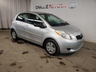 Used 2007 Toyota Yaris Hatchback Gr. Commodité FINANCEMENT NON DISPONIBLE for sale in Montréal, QC