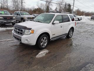 Used 2008 Ford Escape Limited for sale in Madoc, ON
