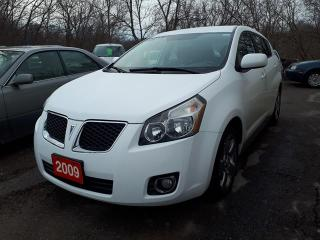 Used 2009 Pontiac Vibe CERTIFIED for sale in Oshawa, ON