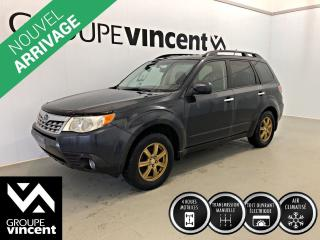 Used 2011 Subaru Forester 2.5 X AWD ** GARANTIE 10 ANS ** Vus awd à prix abordable! for sale in Shawinigan, QC