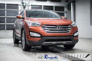 Used 2013 Hyundai Santa Fe AWD 2.0T Limited chez RImouski Hyundai for sale in Rimouski, QC