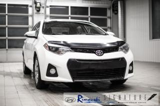 Used 2015 Toyota Corolla S chez Rimouski Hyundai for sale in Rimouski, QC