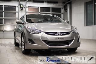Used 2012 Hyundai Elantra GL chez Rimouski Hyundai for sale in Rimouski, QC