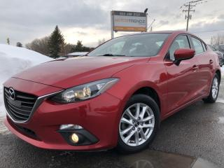 Used 2015 Mazda MAZDA3 GS Loaded with Sunroof, Heated Seats, BackupCam, Bluetooth, Cruise, Air and Alloys with Fog Lights! for sale in Kemptville, ON