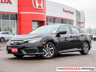 Used 2016 Honda Civic EX | Moonroof | Keyless Entry | LaneWatch | R. Camera for sale in Milton, ON