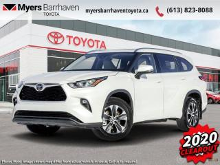 New 2020 Toyota Highlander XLE  - Power Moonroof -  Power Liftgate - $316 B/W for sale in Ottawa, ON