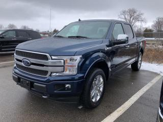 New 2020 Ford F-150 PLATINUM for sale in Chatham, ON
