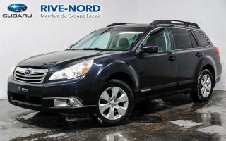 Used 2011 Subaru Outback Limited CUIR+TOIT.OUVRANT for sale in Boisbriand, QC