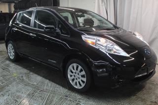 Used 2017 Nissan Leaf S (BAS KILO 29550KM) CHARGE RAPIDE for sale in St-Constant, QC