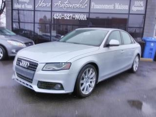 Used 2009 Audi A4 PREMIUM - TOIT OUVRANT - AWD for sale in Beloeil, QC