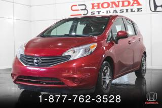 Used 2014 Nissan Versa Note SV + AUTO + A/C + JAMAIS ACCIDENTE + WOW for sale in St-Basile-le-Grand, QC