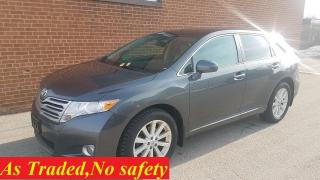 Used 2012 Toyota Venza LIMITED-NAVI-MOONTOOF-BACKUP CAM for sale in Oakville, ON