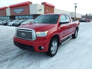 Used 2011 Toyota Tundra Limited 4x4 Double Cab 145.7 in. WB for sale in Steinbach, MB
