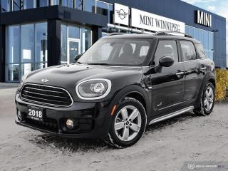 Used 2018 MINI Cooper Countryman Cooper ALL4 Essentials Loaded! for sale in Winnipeg, MB