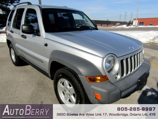 2006 Jeep Liberty Sport - 4WD - 3.7L