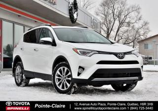 Used 2017 Toyota RAV4 LIMITED BAS KM! for sale in Pointe-Claire, QC