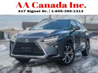 Used 2017 Lexus RX 350 LEATHER|NAVI|ROOF| for sale in Toronto, ON